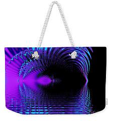 Fantasy Lake Fractal Weekender Tote Bag