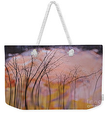 fantasy landscape trees - Fleeting Forest Weekender Tote Bag