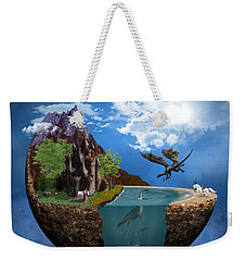 Fantasy Planet 1 Weekender Tote Bag