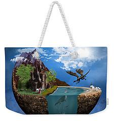 Fantasy Planet 1 Weekender Tote Bag