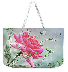 Fantasy Rose Weekender Tote Bag