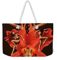Weekender Tote Bag featuring the digital art Fantasy by Sergey Simanovsky