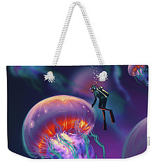 Fantasy Underworld Weekender Tote Bag