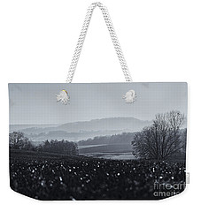 Far Away, The Misty Mountains Cold Weekender Tote Bag