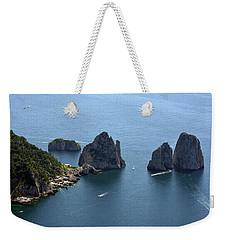 Faraglioni A Capri  Weekender Tote Bag