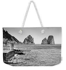 Faraglioni Weekender Tote Bag by Silvia Bruno