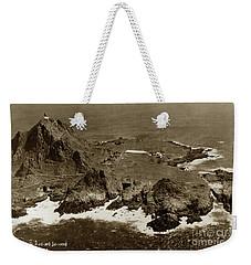 Farallon Island Lighthouse Pacific Ocean April 4, 1924 Weekender Tote Bag