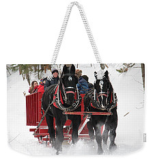 Farm By The River North Conway Nh Weekender Tote Bag