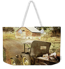 Farm Delivered Weekender Tote Bag