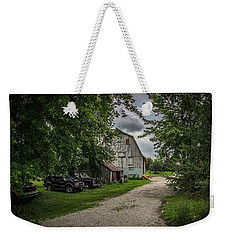 Farm Drive Weekender Tote Bag by Ray Congrove