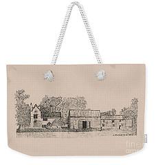 Farm Dwellings Weekender Tote Bag