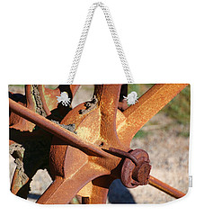 Weekender Tote Bag featuring the photograph Farm Equipment 3 by Ely Arsha