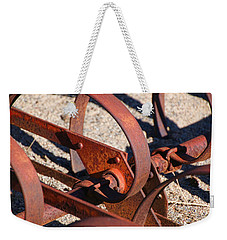 Weekender Tote Bag featuring the photograph Farm Equipment 4 by Ely Arsha