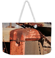 Weekender Tote Bag featuring the photograph Farm Equipment 8 by Ely Arsha