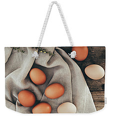 Weekender Tote Bag featuring the photograph Farm Fresh by Kim Hojnacki