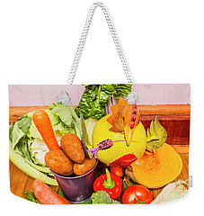Farm Fresh Produce Weekender Tote Bag by Jorgo Photography - Wall Art Gallery