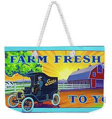 Farm Fresh To You  Weekender Tote Bag