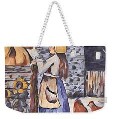 Farm Girl Weekender Tote Bag by Megan Walsh