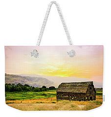 Twilight At The Okanagan Farm House Canada Weekender Tote Bag