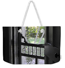 Farm House Screen Door Weekender Tote Bag by Wilma  Birdwell