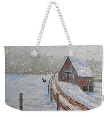 Farm Land Weekender Tote Bag