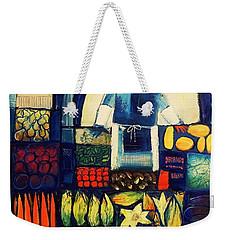 Farm Market   Weekender Tote Bag by Mikhail Zarovny