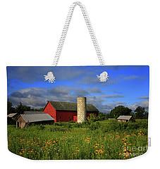Farm Morning Weekender Tote Bag