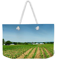 Farm Panorama Weekender Tote Bag