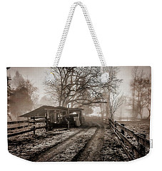 Farm Road Late Autumnl. Weekender Tote Bag