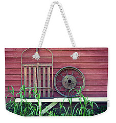 Farm Stuff On Willow Pond Weekender Tote Bag