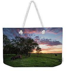 Farm View  Weekender Tote Bag
