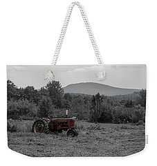 Farmall Tractor - Dedham Maine Weekender Tote Bag