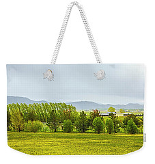 Farmers Crop Weekender Tote Bag by Nancy Marie Ricketts