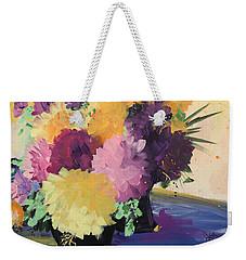 Farmer's Market Flowers Weekender Tote Bag by Terri Einer