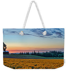 Farmhouse Among The Wallflowers Weekender Tote Bag