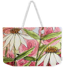 Farmhouse Garden Weekender Tote Bag by Laurie Rohner