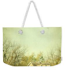 Farmhouse In Arkansas Weekender Tote Bag by Jill Battaglia