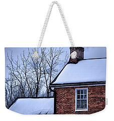 Weekender Tote Bag featuring the photograph Farmhouse Window by Robert Geary