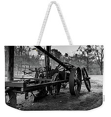 Weekender Tote Bag featuring the photograph Farming Equipment by Doug Camara