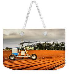 Farming Field Equipment Weekender Tote Bag