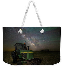 Weekender Tote Bag featuring the photograph Farming The Rift 7 by Aaron J Groen
