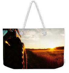 Farming Until Sunset Weekender Tote Bag