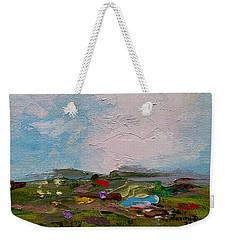 Farmland II Weekender Tote Bag by Judith Rhue