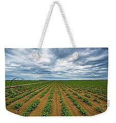 Farmland On The North Fork Weekender Tote Bag