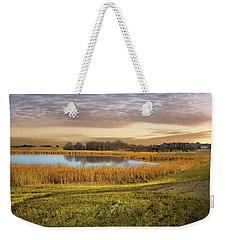 Farmland Pond Weekender Tote Bag