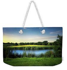 Farmland Waters Weekender Tote Bag