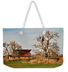 Farmstead 2 Weekender Tote Bag by Lana Trussell
