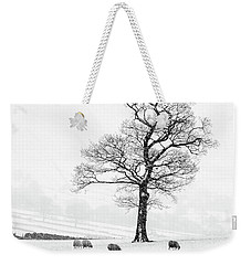 Farndale Winter Weekender Tote Bag