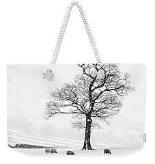 Farndale Winter Weekender Tote Bag by Janet Burdon