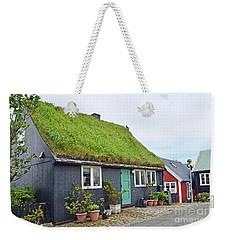 Faroe Islands House Weekender Tote Bag
